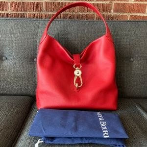 Red DOONEY + BURKE satchel bag